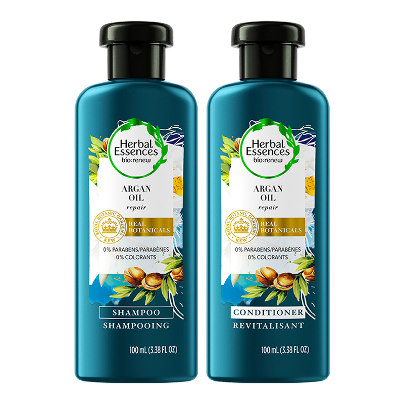 Herbal Essences bio:renew Shampoo and Conditioner