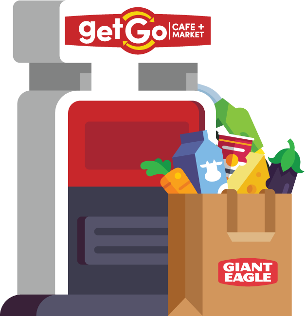 getgo gas and giant eagle grocery fuelperks
