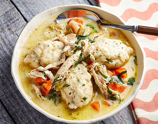 Instant Pot® Chicken and Dumplings