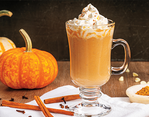 White Chocolate-Pumpkin Latte