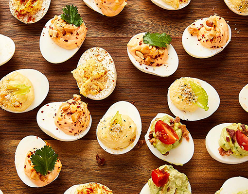 Deviled Eggs Four Way