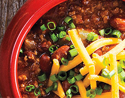 Slow Cooker 5-ingredient Chili