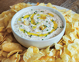 Roasted Garlic-Parmesan Dip