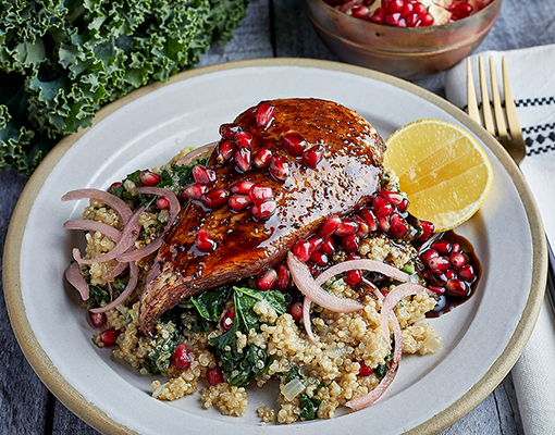 Chicken with Quinoa Pilaf