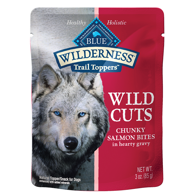 BLUE Wilderness™ Wild Cuts Trail Toppers™ Chunky Salmon Bites in Hearty Gravy