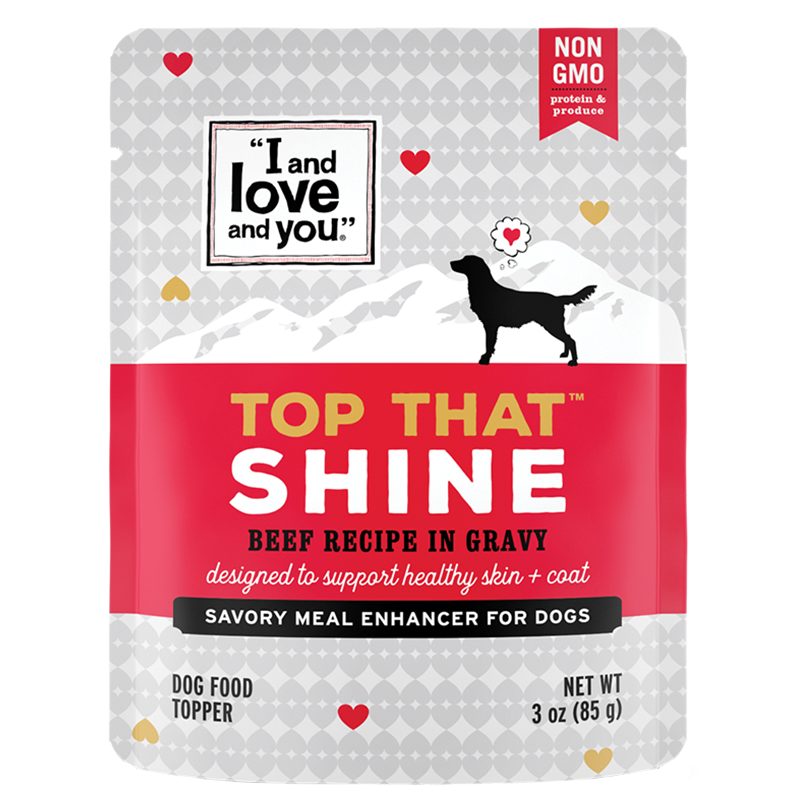 """I and Love and You""® Top That Shine Beef Topper"