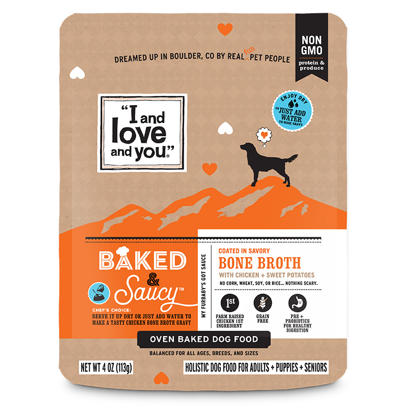 I And Love And You Baked & Saucy Kibble